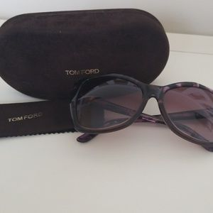 Tom Ford Carli Frames Violet Havana Brown